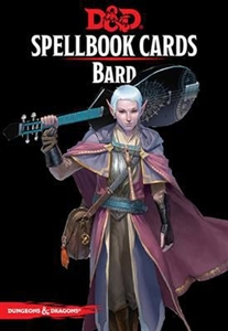 Dungeons & Dragons: Bard Spellbook Cards (Fifth Edition)