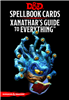 Dungeons and Dragons RPG: Spellbook Cards - Xanathar's Guide to Everything (95 cards)