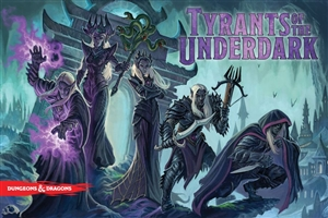 Dungeons and Dragons: Tyrants of the Underdark Board Game