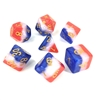 3 layer multicolor dice set 4/6/8/10/10s/12/20 - 7 Dice