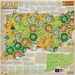Catan Geographies: Indiana & Ohio