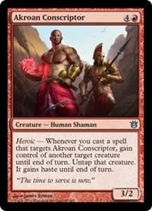 Akroan Conscriptor MTG Born of the Gods