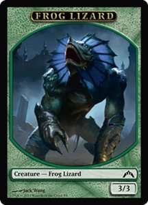 Frog Lizard Token MTG Gatecrash