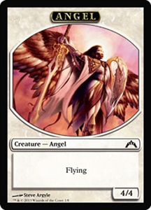 Angel Token MTG Gatecrash