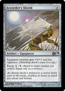 Accorder's Shield MTG Magic 2014 (M14)