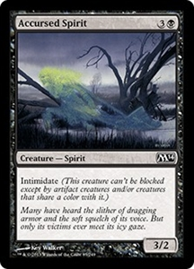 Accursed Spirit MTG Magic 2014 (M14)