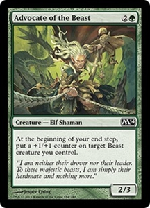 Advocate of the Beast MTG Magic 2014 (M14)