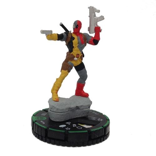 Evil Deadpool 019b Marvel Deadpool Heroclix Miniature