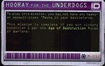 Hooray For The Underdogs M-012