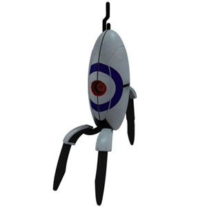 Bullseye Sentry Turret Closed Portal 2