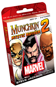 Munchkin: Marvel Edition 2 - Mystic Mayhem Expansion