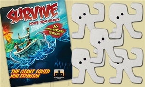 Survive: Escape from Atlantis! The Giant Squid Mini Extension