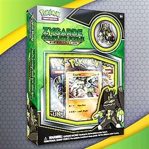 Pokemon - Zygarde Complete Forme Pin Collection