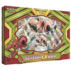 Pokemon TCG: Scizor EX Box