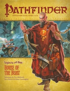 Pathfinder Roleplaying Game: House of the Beast module 020