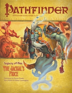 Pathfinder Roleplaying Game: The Jackal's Price module 021