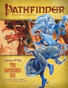 Pathfinder Roleplaying Game: The Impossible Eye module 023