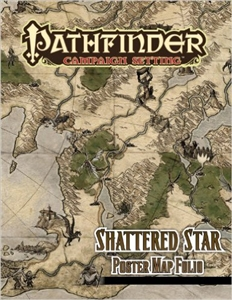 Pathfinder Campaign Setting: Shattered Star Poster Map Folio