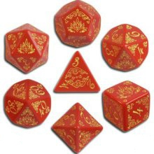 Pathfinder: Curse of the Crimson Throne Dice Set