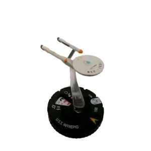 U.S.S. Intrepid 011 Star Trek Heroclix: Tactics II