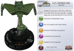 I.K.S. Kronos One 021 Star Trek Heroclix: Tactics