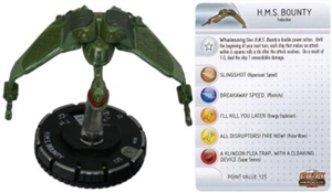 H.M.S. Bounty 028 Star Trek Heroclix: Tactics