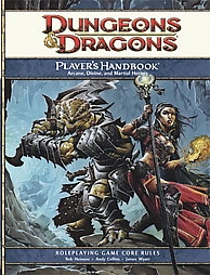 Dungeons & Dragons Player's Handbook: Arcane, Divine, and Martial Heroes (D&D 4th Edition RPG)