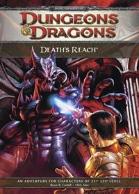 E1 Deaths Reach Adventure Dungeons and Dragons Role Playing Game (D&D 4th Edition RPG)
