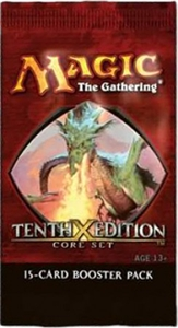 10th Edition Booster Pack Magic the Gathering
