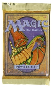 5th Edition Booster Pack Magic the Gathering