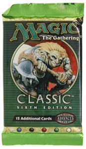 6th Edition Booster Pack Magic the Gathering