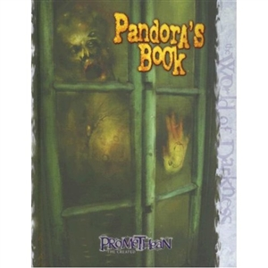Pandora's Book hardcover supplement (Promethean: the Created RPG)