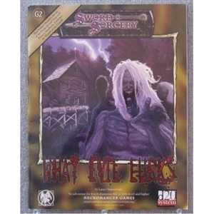 What Evil Lurks softcover module (Sword & Sorcery d20 RPG)