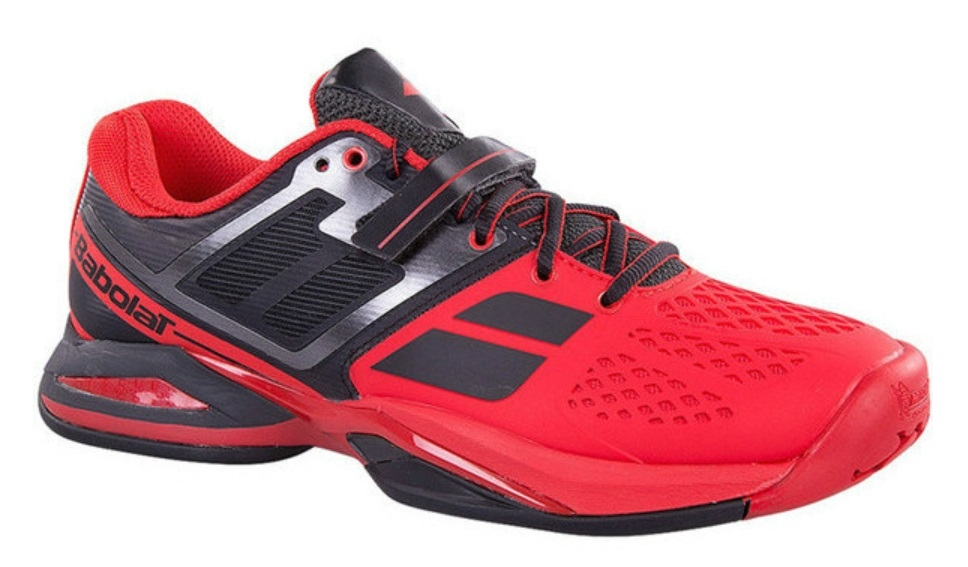 Babolat CUD Propulse BPM All Court Men's Tennis Shoes Black/Red
