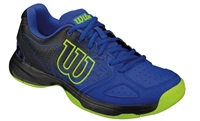Wilson Kaos Comp Jr. Tennis Shoes Blue/Black