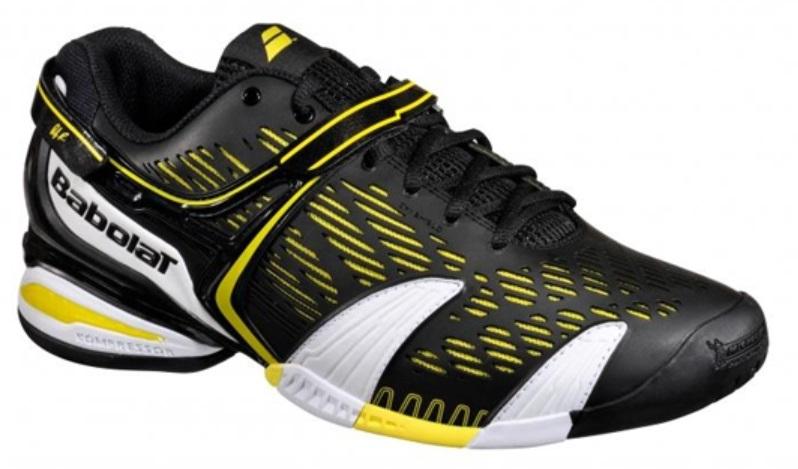 Babolat Propulse 4 All Court Men's Tennis Shoes Black/Yellow