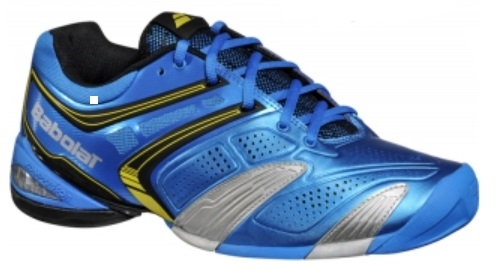 Babolat V-Pro 2 All Court Men's Tennis Shoes Blue/Yellow