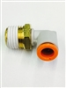 "FA00219 - 1/4""NPT x 1/4"" Tube 90 Degree Fitting"
