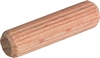 "HA01246 - 1/4"" x 1-1/2"" Grooved Wooden Dowel Pin (100)"