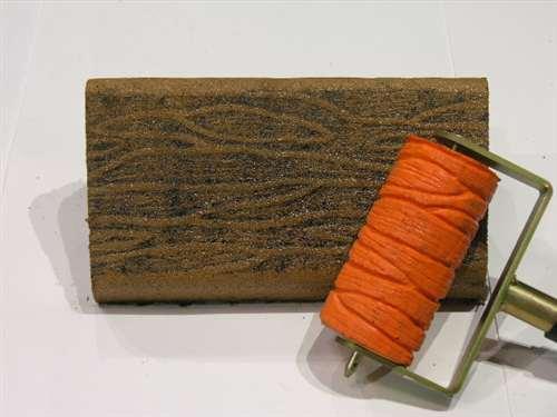 wood grain roller  2