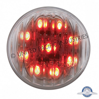 "2"" LED RED/CLEAR LENS 9 DIODE"