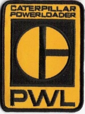 ALIENS Caterpillar Power Loader ballcap patch