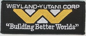 ALIENS Weyland-Yutani patch.