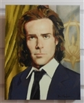 "Canvas Print of the Portrait of President Gaius Baltar 11"" x 14"" x 1"""