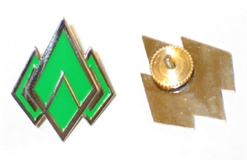 BSG Enlisted Rank Pins (set of 2) - Chief Petty Officer (CF)/Gunnery Sergeant (CMC)
