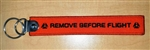 BSG Keychain - Remove Before Flight