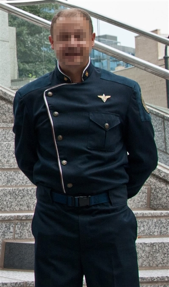 BSG Service Blues Senior Officer Uniform - Executive Officer