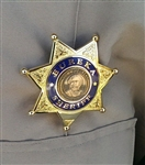 Eureka Metal Sheriff Badge