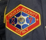"Outland ""Federal Security Agency"" Patch"
