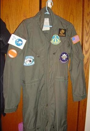 S:AAB Flight Suit with Sewn Patches.